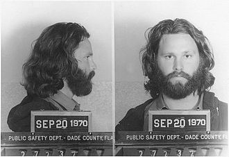 L.A. Woman - Jim Morrison on the day of his conviction in Miami for profanity and indecent exposure