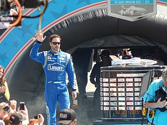 2010 NASCAR Sprint Cup Series - Jimmie Johnson, the 2010 Cup Champion