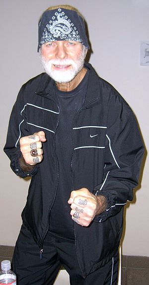 Jimmy Valiant - Valiant at the Big Apple Con, November 14, 2008.