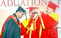 """Jitendra Singh presenting Gold Medal to a topers at the """"Graduation Ceremony - 2016"""" of Tata Memorial Centre, in Mumbai.jpg"""