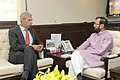 Joao Cravinho calling on the Minister of State for Information and Broadcasting (Independent Charge), Environment, Forest and Climate Change (Independent Charge) and Parliamentary Affairs, Shri Prakash Javadekar.jpg