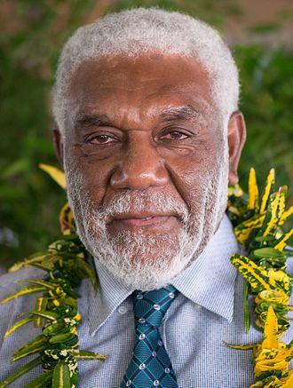 2016 Vanuatuan general election - Image: Joe Natuman 2014 (cropped)