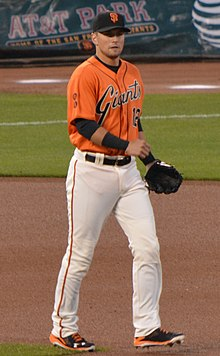Joe Panik on September 16, 2016.jpg