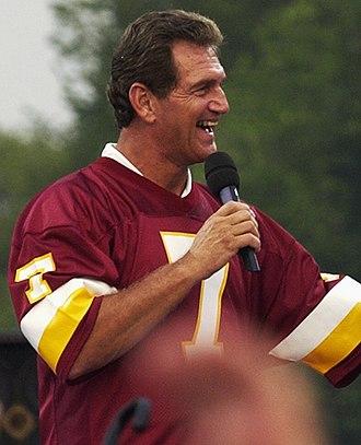 Joe Theismann - Theismann in 2003