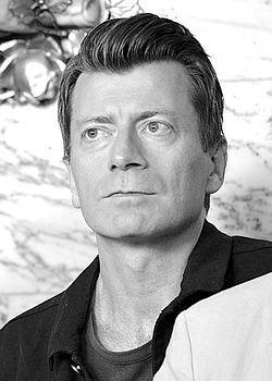 Johan Holmberg under Det Kgl. Svenske Teaters efterårssamling 2014.