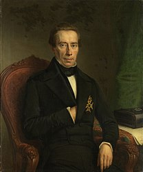 Johan Heinrich Neuman: Portrait of Johan Rudolf Thorbecke, Minister of State and Minister of the Interior