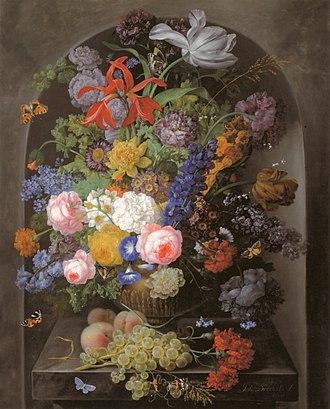 Johann Baptist Drechsler - Image: Johann Baptist Drechsler Blumenstilleben