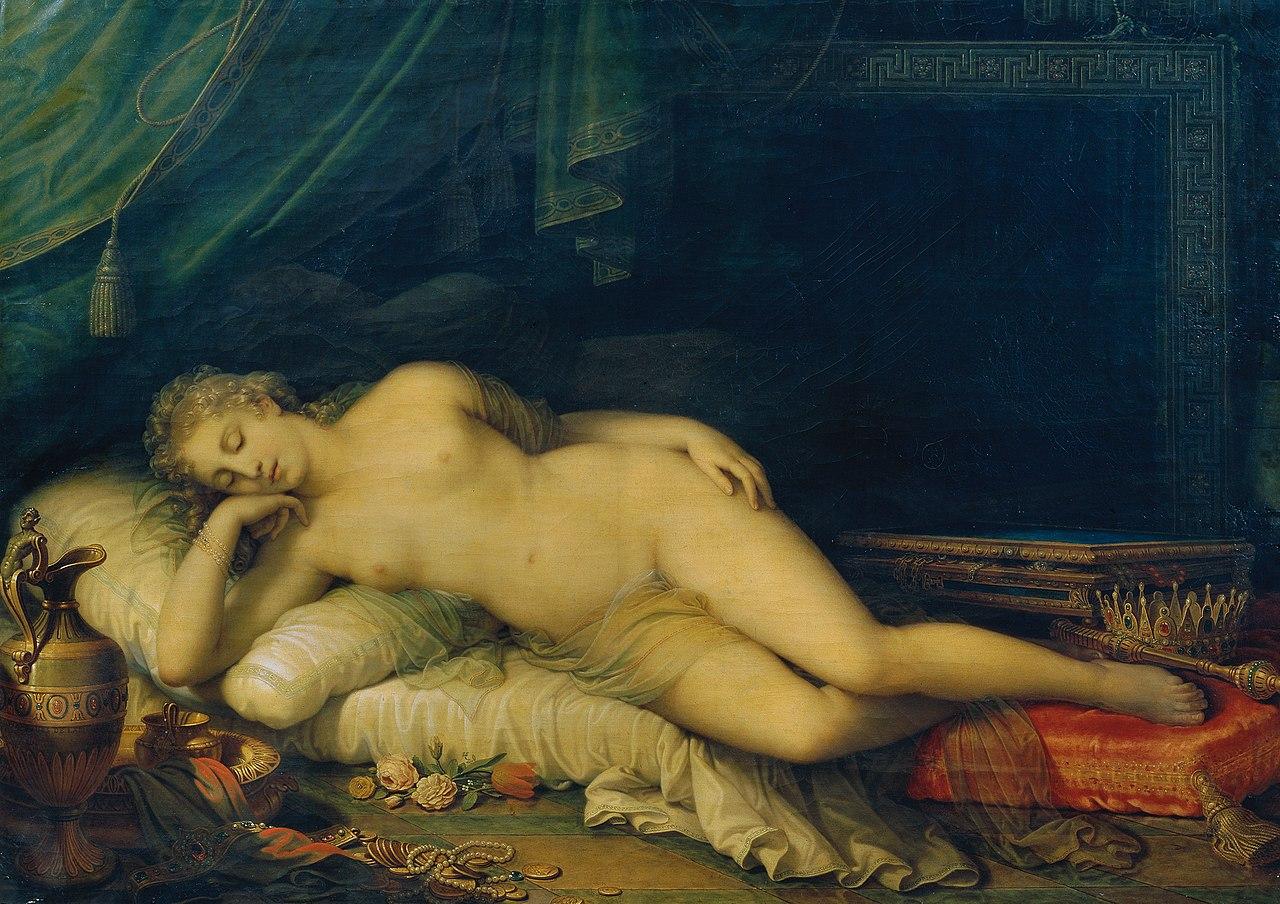 Johann Baptist Lampi d. J. - Venus, auf einem Ruhebett schlafend - 2519 - Kunsthistorisches Museum.jpg