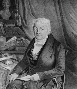 Johann Caspar von Orelli - Portrait by Ludwig Wegner