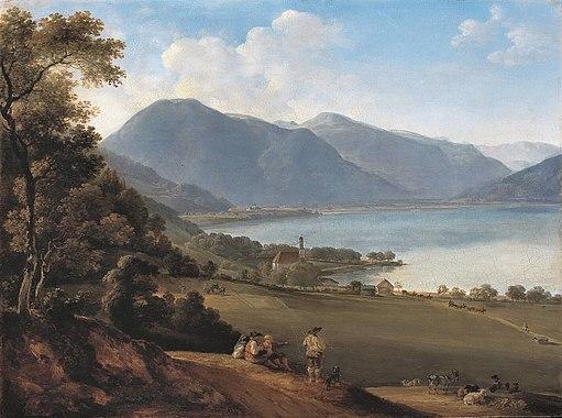 Johann Georg von Dillis - Der Tegernsee - WAF 210 - Bavarian State Painting Collections