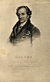 Johann Wolfgang von Goethe. Lithograph by T. Wright, 1821, a Wellcome V0002297.jpg