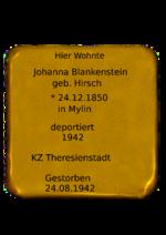 Johanna Blankenstein