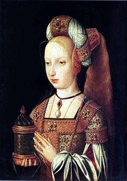Johanna die Wahnsinnige,die junge Herzogin von Burgund