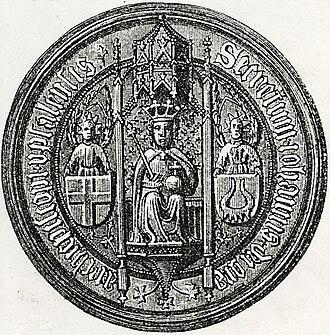 Oxenstierna - Image: John Benson (Oxenstierna) Regent of Sweden seal 1879