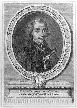 John Fenwick (Jesuit) - John Fenwick in a 1683 engraving by Martin Bouche.