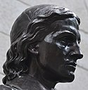 Harvard student Sherman Hoar was the inspi­ra­tion for John Harvard's face.