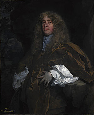 John Maitland, 1st Duke of Lauderdale - John Maitland, 1st Duke of Lauderdale, painted around 1665 by Sir Peter Lely.