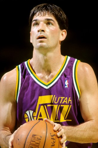 1992 United States men's Olympic basketball team - Image: John Stockton Lipofskydotcom 32245