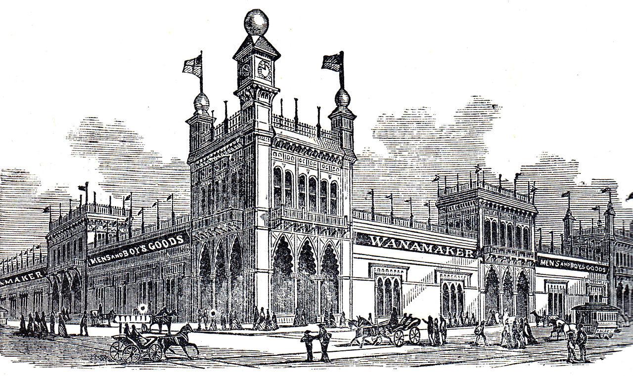 Wanamaker Building Philadelphia For Sale