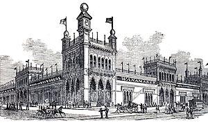 Wanamaker's - John Wanamaker's in 1876
