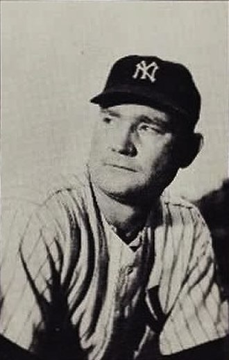 Johnny Mize - Mize during his time with the Yankees.