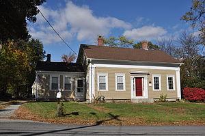 Hughesdale, Rhode Island - The Thomas H. Hughes House