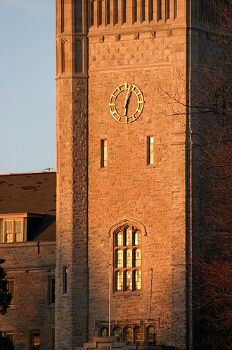 Johnston Hall (University of Guelph) - This is the famous Clock Tower of Johnston Hall