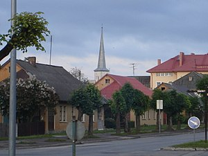 Jõhvi - Image: Johvi estonia