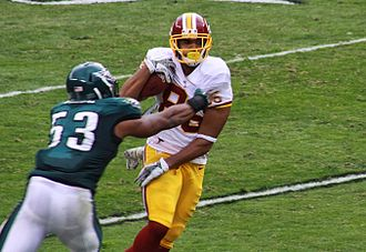 Jordan Reed - Reed during a game against the Philadelphia Eagles in 2013