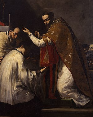 Donatus of Arezzo - The Miracle of Saint Donatus by Jusepe de Ribera, Musée de Picardie.