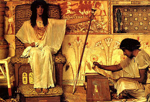 Joseph Overseer of the Pharaohs Granaries