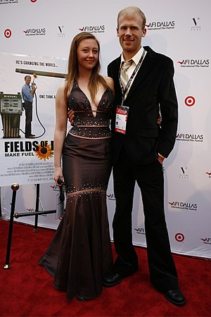 Rebecca Harrell Tickell - Rebecca Harrell Tickell with husband Josh at AFI Dallas Film Festival, March 2010