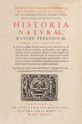 Juan Eusebio Nieremberg - Image: Juan Eusebio Nieremberg (1635) Historia naturae (libris XVI)