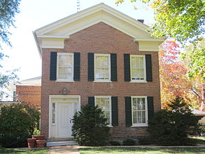 National Register of Historic Places listings in Green County, Wisconsin - Image: Judge John Bingham House
