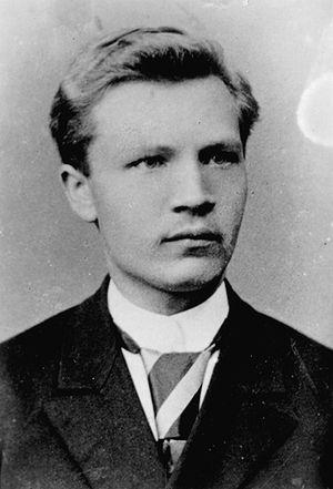 Juhan Liiv - Juhan Liiv as a young man