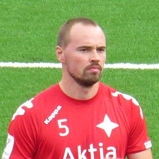 Jukka Sinisalo Finnish footballer