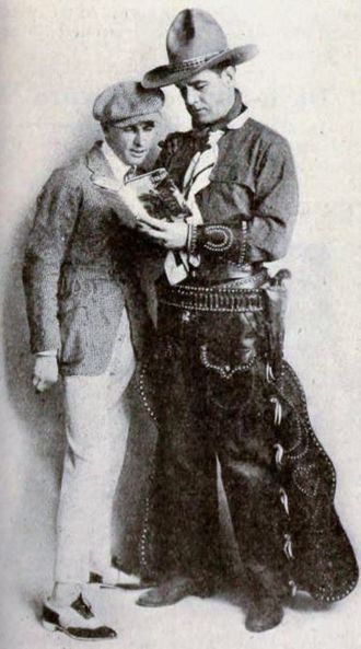 Jules Furthman - Jules Furthman and actor William Russell in 1919