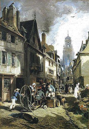 Jules Achille Noël - Image: Jules Noël Le rémouleur à Morlaix musée Jacobins