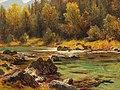 Julius Lange - Red Deer by the Stream.jpg