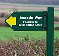 Jurassic Way sign - geograph.org.uk - 310886.jpg