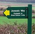 Jurassic Way sign - geograph.org.uk - 310886.jpg