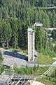 Jury tower of Matti Nykäsen mäki from the tower of the hill.JPG