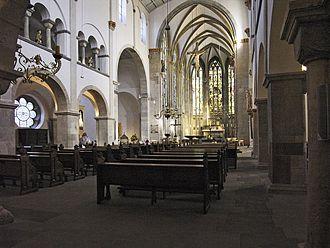 Basilica of St. Ursula, Cologne - Interior of St. Ursula