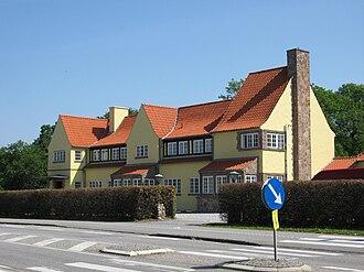 Carl Harald Brummer - Image: Køllesgaard in Humlebæk