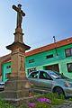 Kříž před zvonicí, Ondratice, okres Prostějov.jpg