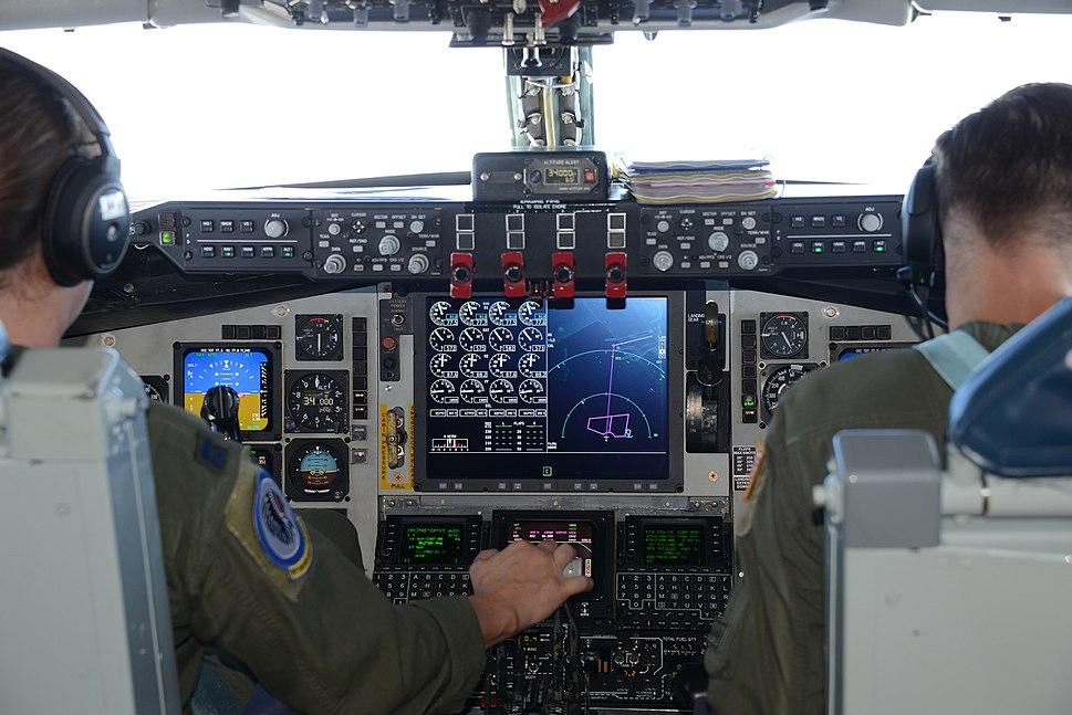 KC-135 Block 45 glass cockpit 2017