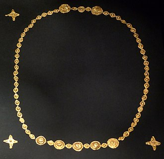 Vandals - Vandalic goldfoil jewellery from the 3rd or 4th century