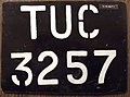KIRIBATI 1980s Teinainano urban council license plate Flickr - woody1778a.jpg