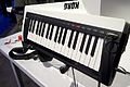 KORG RK-100S keytar - angled right - 2014 NAMM Show (by Matt Vanacoro).jpg