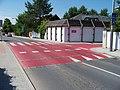 K Tuchoměřicům, přechod s přejezdem pro cyklisty (02).jpg